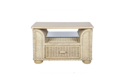 Brook-wicker-cane-rattan-conservatory furniture Coffee Table with Drawer
