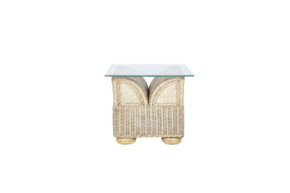 Brook-wicker-cane-rattan-conservatory furniture Side Table
