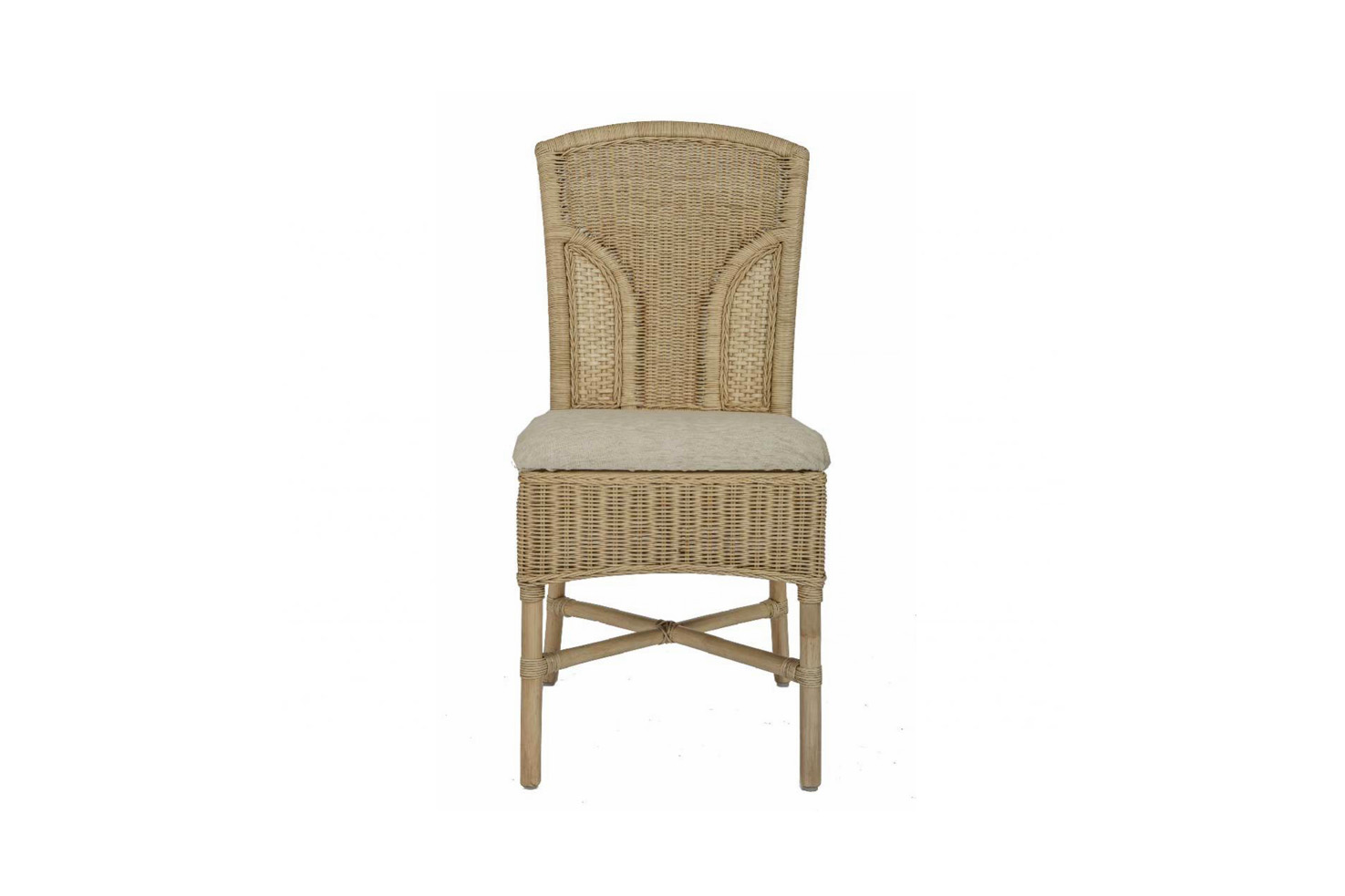Brook Wicker Cane Rattan Conservatory Furniture Dining Chair
