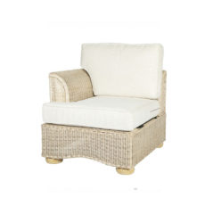Brook-wicker-cane-rattan-conservatory furniture end right arm chair