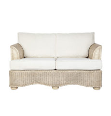 Brook-wicker-cane-rattan-conservatory furniture small sofa