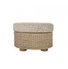 Brook-wicker-cane-rattan-conservatory leg rest ottoman