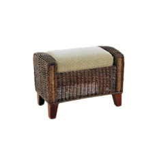 Grove wicker cane rattan conservatory furniture footstool ottoman