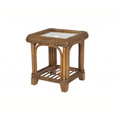 Grove wicker cane rattan conservatory furniture side table