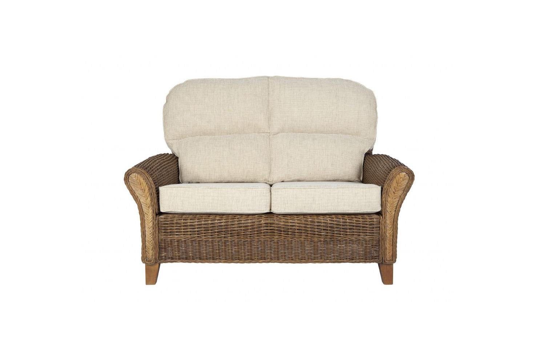 Grove Wicker Cane Rattan Conservatory Furniture Small Sofa