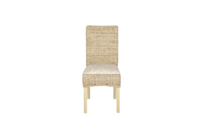 Pebble -wicker-cane-rattan-conservatory furniture dining chair
