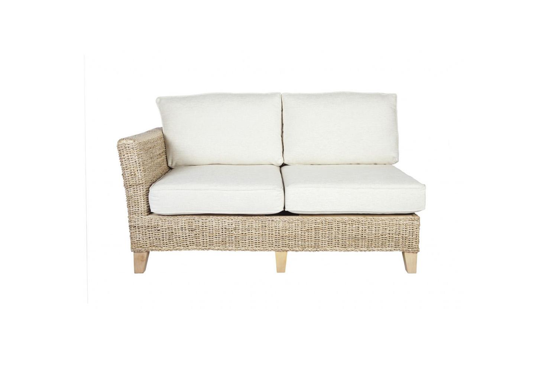 Pebble wicker cane rattan conservatory furniture sofa for Cane wicker furniture
