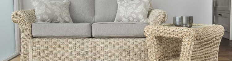 conservatory furniture banana leaf 2 seat sofa