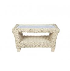 Rossby wicker cane rattan conservatory furniture coffee table