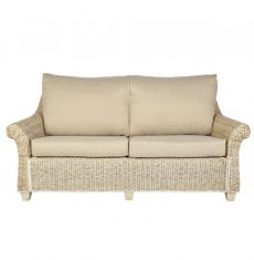 Rossby wicker cane rattan conservatory furniture large sofa