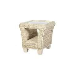 Rossby wicker cane rattan conservatory furniture side table