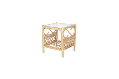 Seasons -wicker-cane-rattan-conservatory furniture Side Table