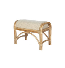 Seasons wicker-cane-rattan-conservatory furniture footstool