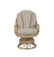 Seasons wicker-cane-rattan-conservatory furniture swivel rocker chair