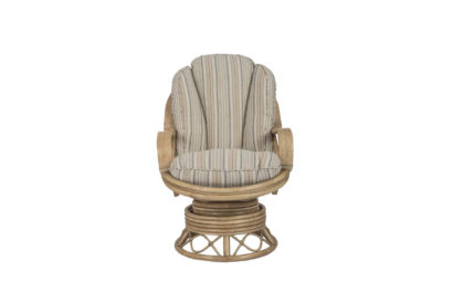 Seasons wicker-cane-rattan-conservatory furniture swivel rocker chair
