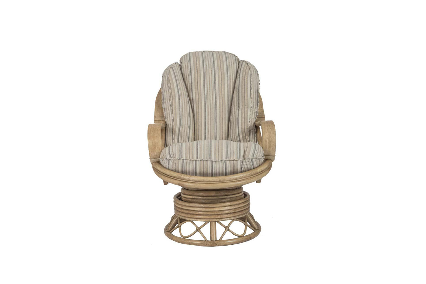 Seasons Wicker Cane Rattan Conservatory Furniture Swivel