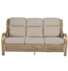 Shore-wicker-cane-rattan-conservatory furniture large sofa