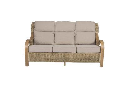 Shore-wicker-cane-rattan-conservatory furniture large sofa