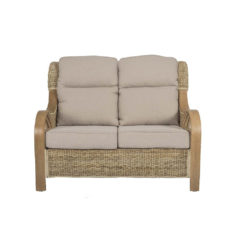 Shore-wicker-cane-rattan-conservatory furniture sofa