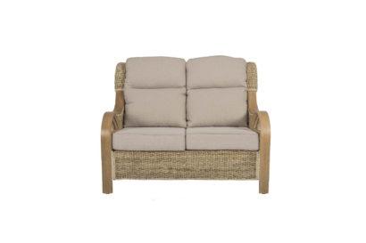 Shore-wicker-cane-rattan-conservatory furniture sofa