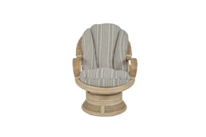 Shore-wicker-cane-rattan-conservatory furniture swivel rocker chair