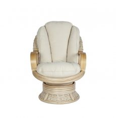 Surf-wicker-cane-rattan-conservatory furniture swivel rocker chair