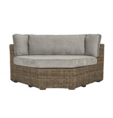 Terrain wicker conservatory furniture corner unit