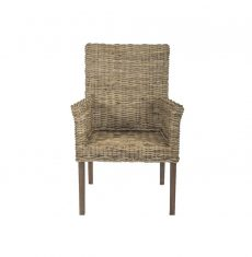 Terrain-wicker-cane-rattan-conservatory furniture dining arm carver chair