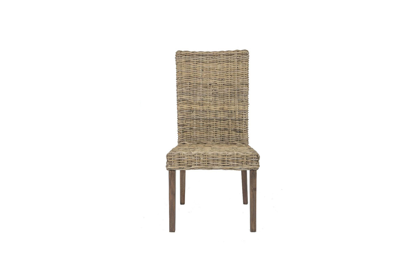Terrain wicker cane rattan conservatory furniture dining chair for Cane wicker furniture