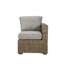 Terrain wicker-cane-rattan-conservatory furniture end chair