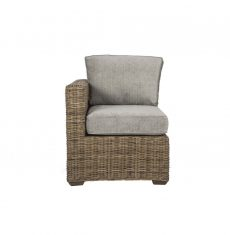 Terrain wicker-cane-rattan-conservatory furniture end chair right