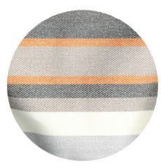 Orange stripe outdoor fabric